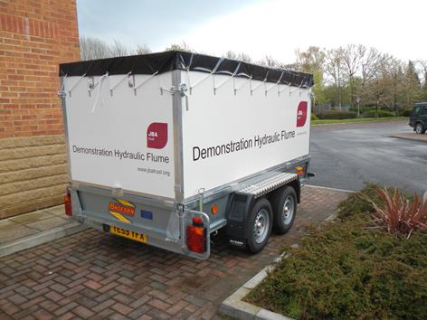 JBA flume trailer