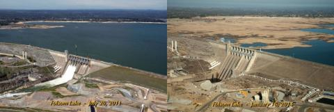 Folsom Lake California Dept Water Resources 2