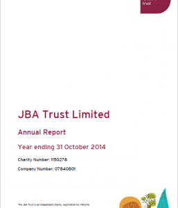 JBA Trust Annual Report 2013-14