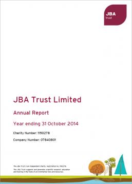 JBA Trust Annual Report 2013-14