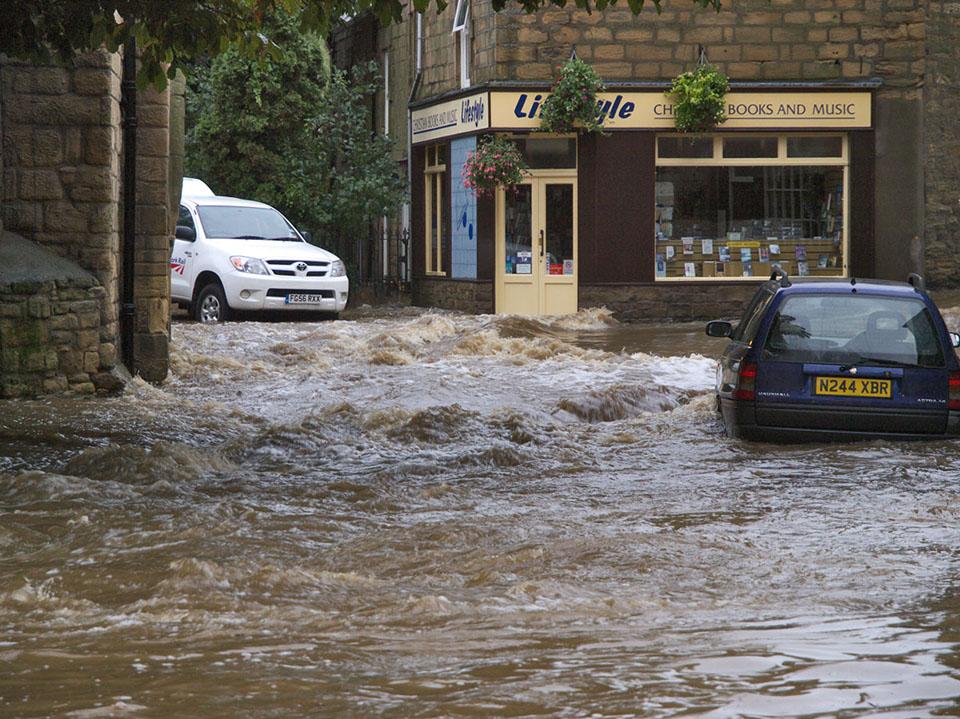 """Morpeth Flood"" by johndal licensed under CC BY-SA 4.0"