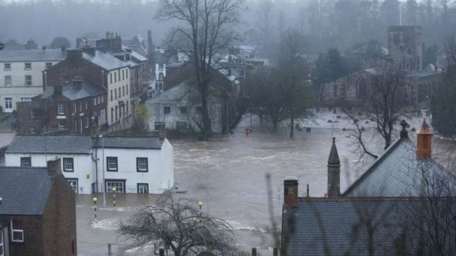 Photo: Flooding in Cumbria, December 2015 (Credit: Owen Humphreys/PA WIRE)