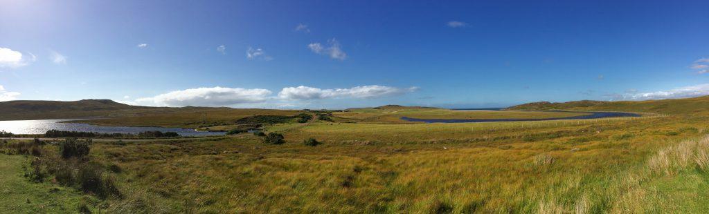 Achnahaird coastline panorama