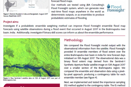 Flood Inundation Mapping with Data Assimilation