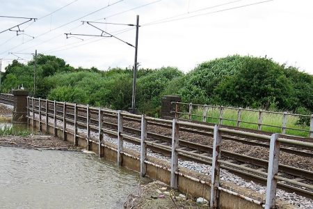 Infrastructure network risk analysis: scour at railway bridges