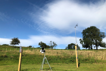 New JBA Trust weather station