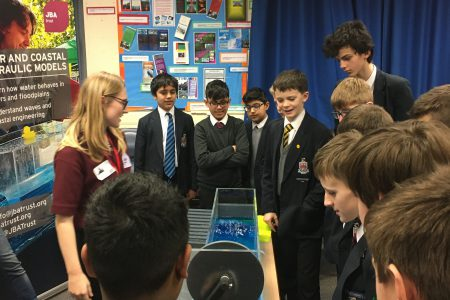 Interactive geography day for secondary school pupils